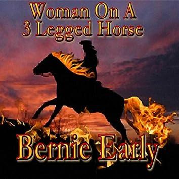 Woman on a Three Legged Horse
