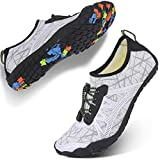 Centipede Demon Water Shoes for Mens Womens Quick Dry Barefoot Beach Swim Diving Aqua Sneakers 7.5...