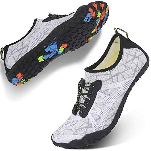 Centipede Demon Water Shoes for Mens Womens Quick Dry Barefoot Beach Swim Diving Aqua Sneakers 8.5 Women/7 Men