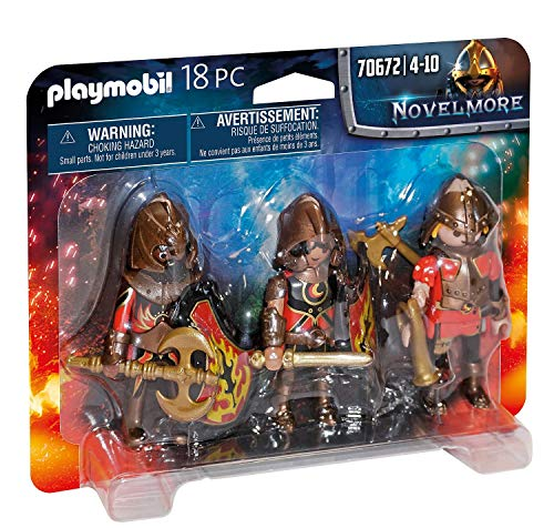 PLAYMOBIL 3er Set Burnham Raiders, 70672