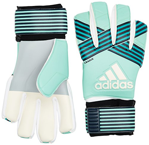 adidas Erwachsene ACE League Torwarthandschuhe, Energy Aqua f17/energy Blue s17/legend Ink f17/Trace Blue f17, 10.5