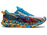 ASICS Men's Noosa Tri 13 Running Shoes, 10.5M, Digital Aqua/Marigold Orange