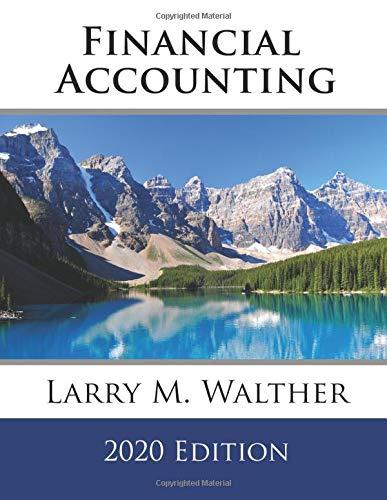 Financial Accounting 2020 Edition