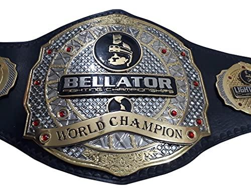 FIGHTING CHAMPIONSHIP BELLATOR, LIGHT WEIGHT CHAMPION WRESTLING REPLICA BELT ADULT SIZE.