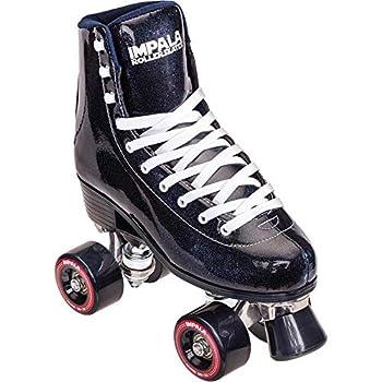 Impala Rollerskates Girl s Impala Quad Skate  Big Kid/Adult  Midnight 9  US Men s 7 Women s 9  M