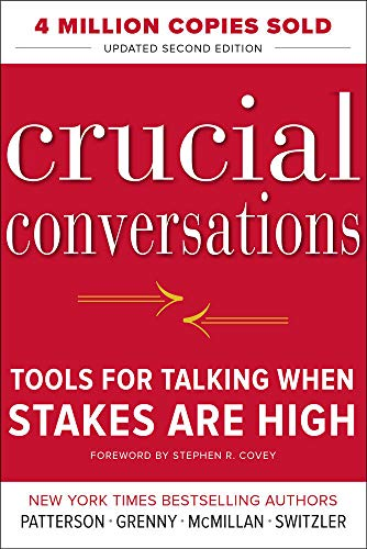 Compare Textbook Prices for Crucial Conversations Tools for Talking When Stakes Are High, Second Edition 2 Edition ISBN 8580001040288 by Patterson, Kerry,Grenny, Joseph,McMillan, Ron,Switzler, Al
