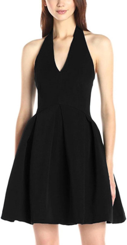 Sekitobajapan.inc Sleeveless Short Black Dress for Women Sexy and Elegant