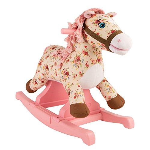 Rockin Rider Flowers Rocking Pony