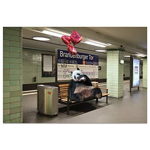 Ansichtkaarten +++ DIN A6 BERLIN motief: romantische datum I stadhoeken I hoogwaardige kaarten I Leven & Momenten grappig I Ansichtkaarten Postcrossing I Geschenk I Geschenkidee