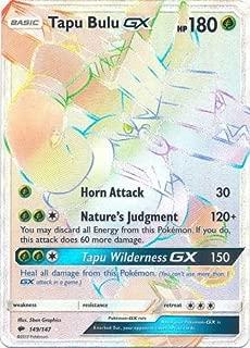 Pokemon Tapu Bulu-GX - 149/147 - Secret Rare - Sun & Moon: Burning Shadows