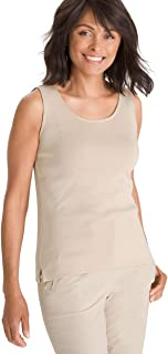 Chico's Women's Soft Supima Cotton Convertible Criss-Cross Tank Top