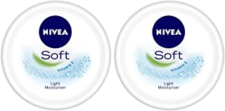NIVEA Soft Light Moisturizing Cream, 300ml (Pack of 2)