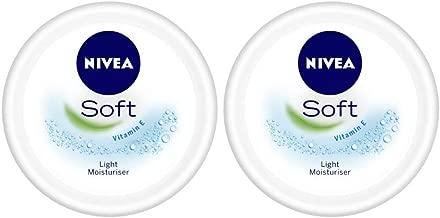 Nivea Soft Light Moistirising Cream, 300 ml (Pack of 2)