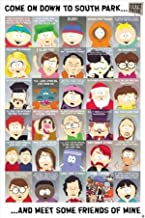 South Park Friends Cast Cartman Quotes TV Humour Poster 24 x 36 inches