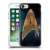 Head Case Designs Officially Licensed Star Trek Discovery Delta Logo Soft Gel Case Compatible with Apple iPhone 7 / iPhone 8 / iPhone SE 2020