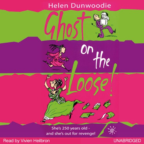Ghost on the Loose audiobook cover art