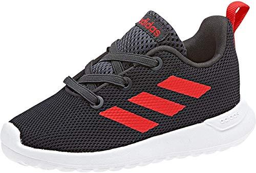 adidas Unisex Baby Lite Racer CLN Sneaker, Grau (Carbon/Hirere/Ftwwht), 21 EU