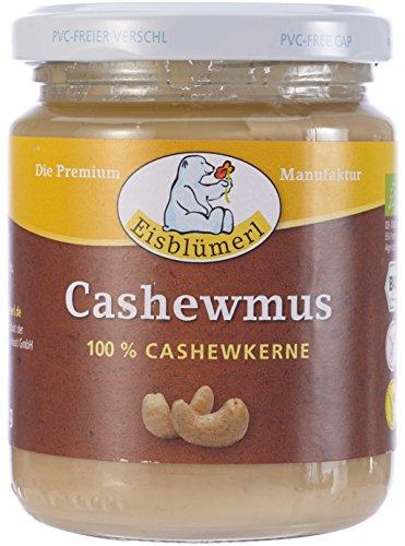 Eisblümerl Cashewmus Bio Brotaufstrich Nussig, 1er Pack (1 x 0.25 kg)