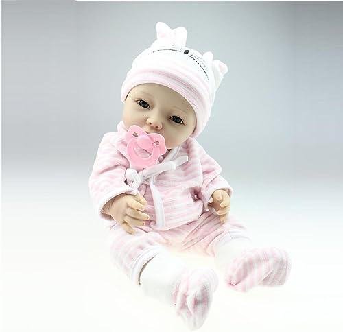 LZTET Volle Silikon Vinyl Reborn Baby Puppe Realistische mädchen Babys Puppen 40cm   Lebensechte Prinzessin Kinder Spielzeug Kinder Geburtstagsgeschenk