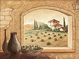 Artland Kunstdruck I Poster Andres Toskana Landschaften