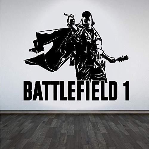 GADGETS WRAP Battlefield 1 Gaming Xbox PS4 Game Wall Art Sticker Decal Art Decal Boys Living Room Bedroom Mural Poster