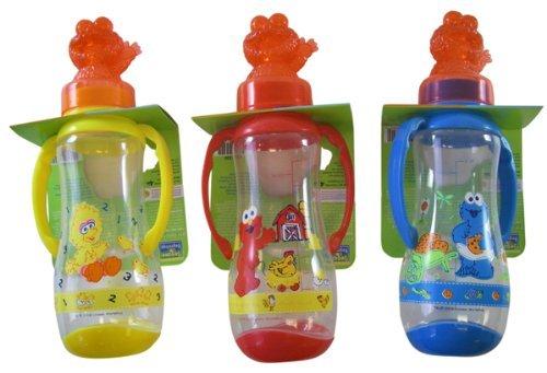 Why Choose Sesame Street Feeding Bottle w/ Handles - Big Bird Bottle