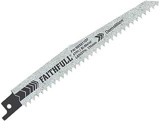 Faithfull FAISBS611DF Sabre Saw Blades BIM Demolition
