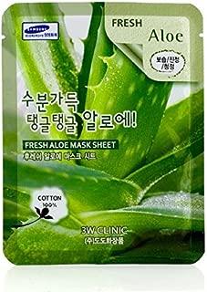 3W Clinic 3w clinic mask sheet - fresh aloe, 1