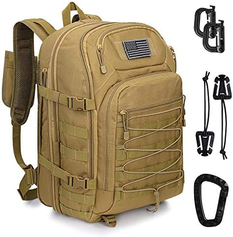 G4Free Expandable Tactical Backpack Military Shoulder Pack 45L 50L Army Molle 3 Day Assault product image