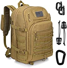 G4Free Expandable Tactical Backpack Military Shoulder Pack 45L-50L Army Molle 3 Day Assault Rucksack
