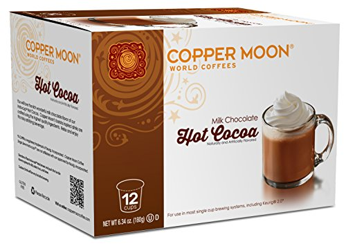 Copper Moon Cocoa Single Serve Pods for Keurig 2.0...