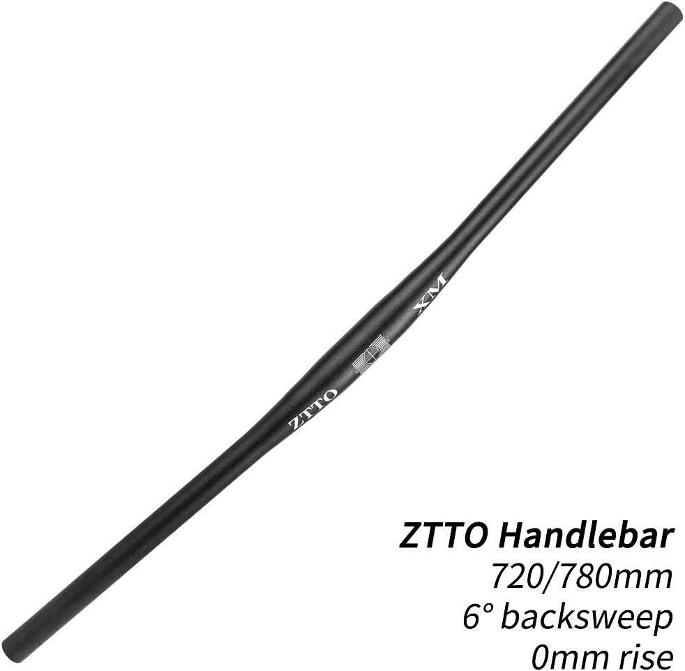 Sangmei 31.8mm 720mm//780mm Aluminum Alloy Bicycle Handlebar MTB Mountain Bike Flat Bar Straight Handlebar