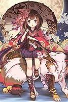 木製ジグソーパズル大人のための300/500/1000ピース子供日本の漫画の女の子のアニメキャラクター面白い家族のストレス解消ゲーム家の装飾