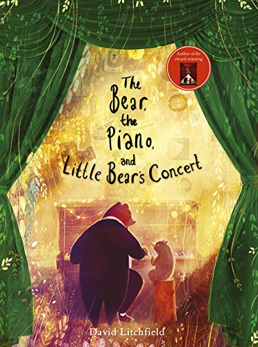 Bear, the Piano and Little Bear's Concert