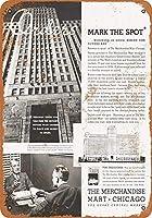 1935商品マートコレクタブルウォールアートブリキ看板