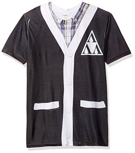 Revenge Of The Ners- Tri-Lambda Cardigan Costume Tee T-Shirt Size XXXL