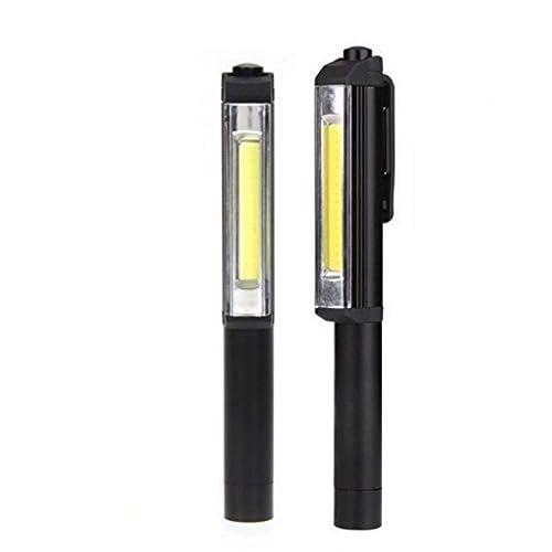 Batteries Included Ultra Bright 160 Lumen LED Pocket Pen Work Light Magnetic!