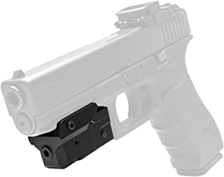 NcSTAR, Compact Pistol, Blue Laser with Strobe and Keymod, Undermount, Black