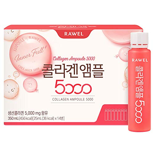 Rawel Korea Beauty Anti-ageing Whitening Collagen Drink Ampoule (25ml x 14bottle)