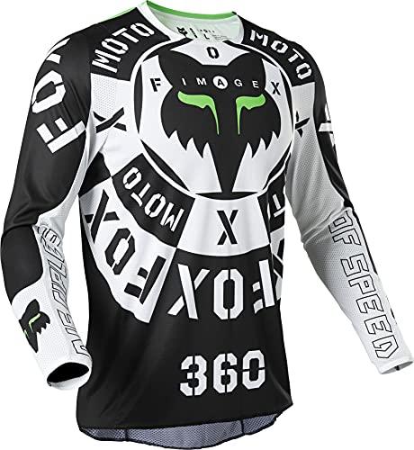 Fox 360 Nobyl Jersey Black/White S