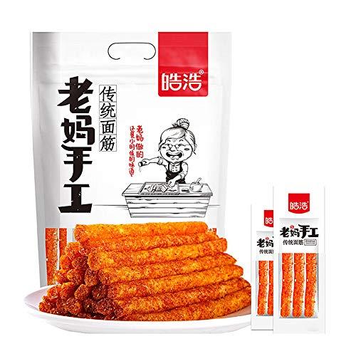 480g /16.9 Oz, La tiao, Spicy Strip, Konjac, Asia Chinese Snack, Vegan - Kosher - Gluten-Free - Non-GMO Mo Yu Shuang