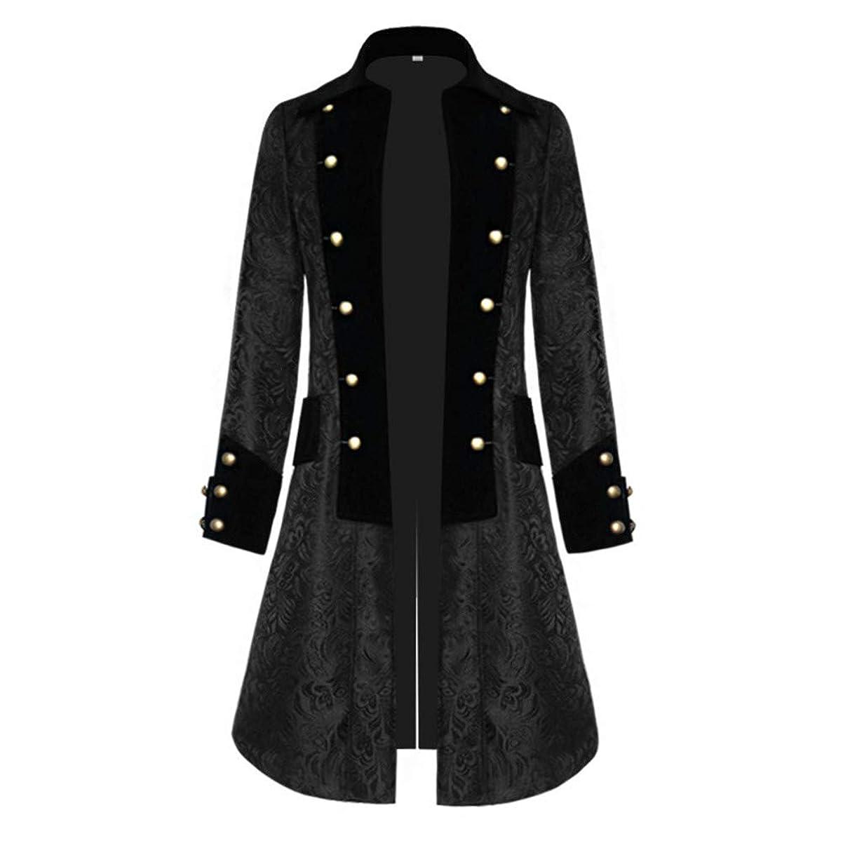 スコットランド人受け継ぐ不器用コート ロングジャケット メンズ 長袖 パーカー ビンテージ ハロウィン 中世 コスプレ 文化祭 学園祭 部活 ヨーロッパ風 カジュアル かっこいい
