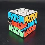 Cubo mágico de 3x3 Cubo mágico de Engranaje de Tercer Orden, Cubo mágico de Forma Irregular Medio difícil para niños Regalo para Adultos Juguete Educativo