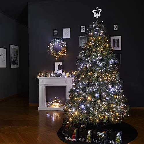 Twinkly Catena Luminosa Edizione Gold con 250 LED Cambiacolore di 20 metri per Esterni