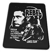マウスパッドrebel Without A Cause James Dean 滑り止め ゲーミング 耐摩耗性 高耐久性 疲労低減 水洗い ファッション オフィス/ゲーム/パソコンなどに適用 (4サイズを選択可能)
