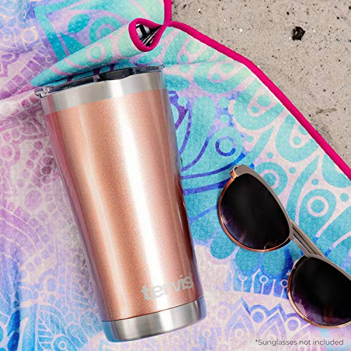 Product Image 5: Tervis Retro Camping Stainless Steel Insulated Tumbler with Lid, 20 oz, Silver