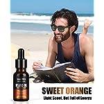 4 Pack Beard Oil Set Leave in Conditioner, Cedarwood, Sandalwood, Sage, Sweet Orange for Men Mustaches Growth, Soften… 8