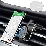 Modohe Soporte Móvil Coche con Ventilación de Aire Magnético Soporte Teléfono Coche Imán con 360 Grados Rotación Adecuado para Xiaomi iPhone Moto G6 Samsung S10 Huawei P40 Pro Xperia GPS, etc.
