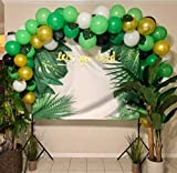 112PCS Jungle Party Balloons Decoration Kit, Safari Baby Shower Animal Party Balloons 16 Feet Balloons Arch for Kids Boys Girls Birthday Decor Zoo Themed Party Supplies