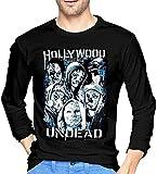 Camisetas de Manga Larga Hollywood Undead para Hombre